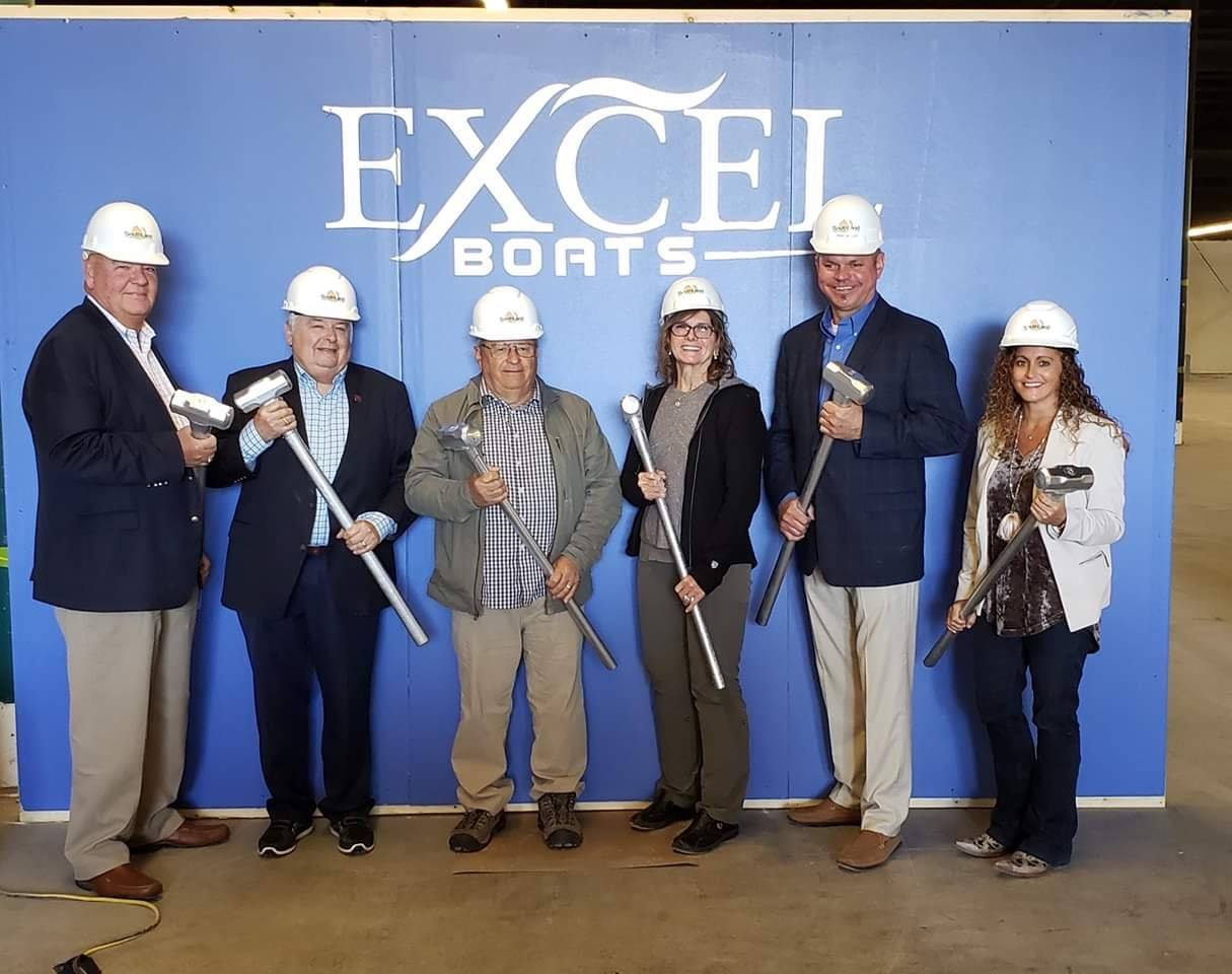 Boat company, local officials unite to mark 'Excel'lent day